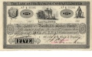 £5 note of Lancaster Banking Co, 1907