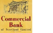 Poster advertising Commercial Bank of Scotland, c.1957