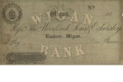 Cheque form of Thomas Woodcock, Sons & Eckersley, 1870s