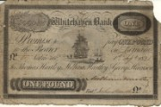 £1 note of Hartley, Hartley & Harrison, Whitehaven Bank, 1825