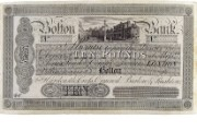 £10 note of Bolton Bank, 1830s