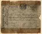 £1 note of Dundee Banking Company, 1816