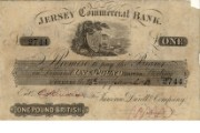 £1 note of Jersey Commercial Bank, 26 March 1853