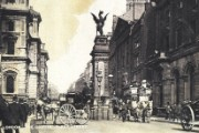 Postcard of Fleet Street, c.1900