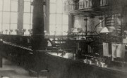 Inside the bank's London head office branch, c.1900