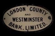 Branch sign, c.1909