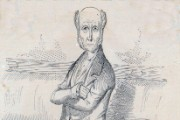 Sketch of Henry Drummond, 1855