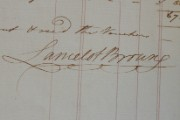 Capability Brown's signature