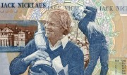 Detail of the Jack Nicklaus commemorative £5 note