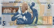 Jack Nicklaus commemorative £5 note, 2005