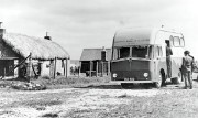 Mobile bank on the Isle of Lewis, 1956