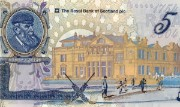 Detail of the Royal & Ancient Golf Club commemorative £5 note