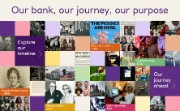 Mosaic of images from NatWest groups history
